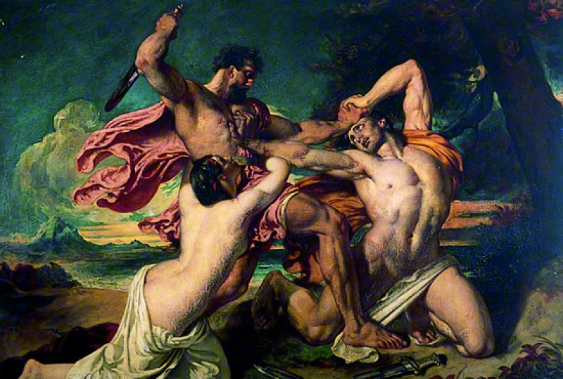 (detail), oil on canvas after William Etty (1787–1849)