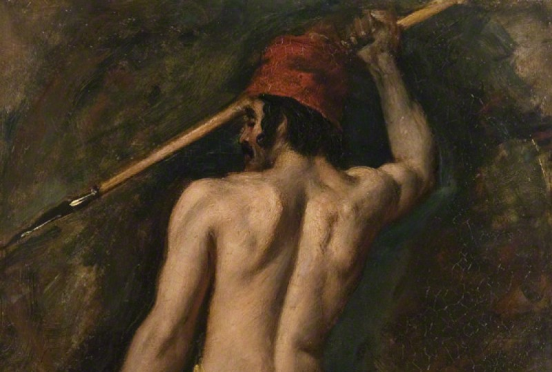 (detail), c.1812, oil on paper by William Etty (1787–1849)