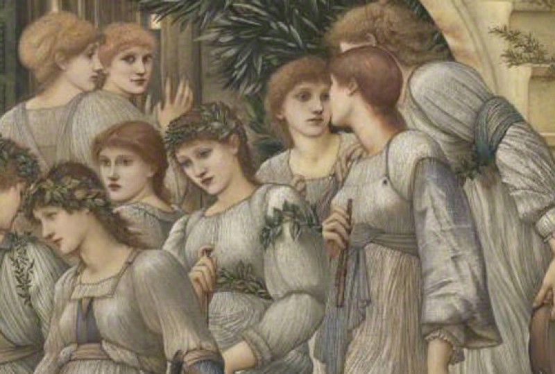 (detail), 1880, oil on canvas by Edward Burne-Jones (1833–1898)
