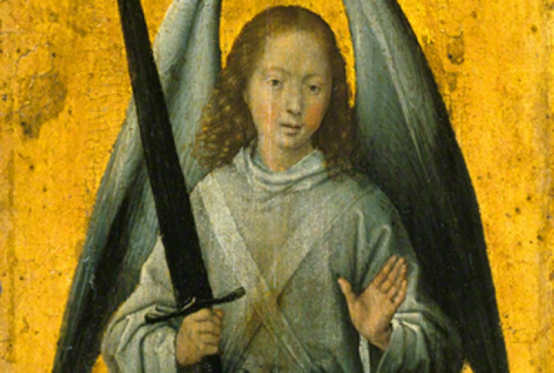 (detail), 1479–1480, oil on canvas by Hans Memling (1430–1440–1494)