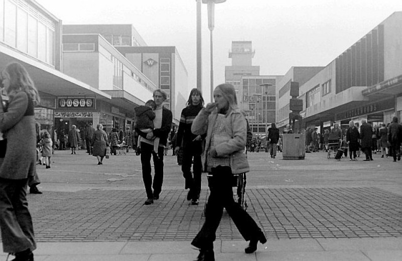 Harlow's Broadwalk in 1971