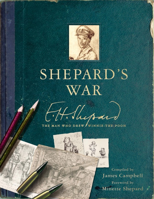 'Shepard's War' by James Campbell (2015, published by LOM Art, an imprint of Michael O'Mara Books)
