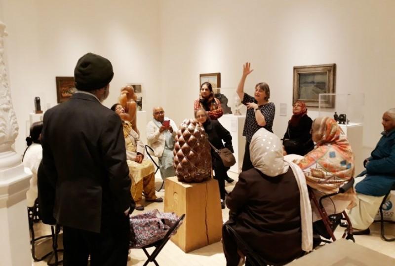 Leeds Art Gallery workshop
