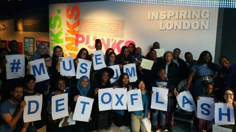 Museum Detox flash mob