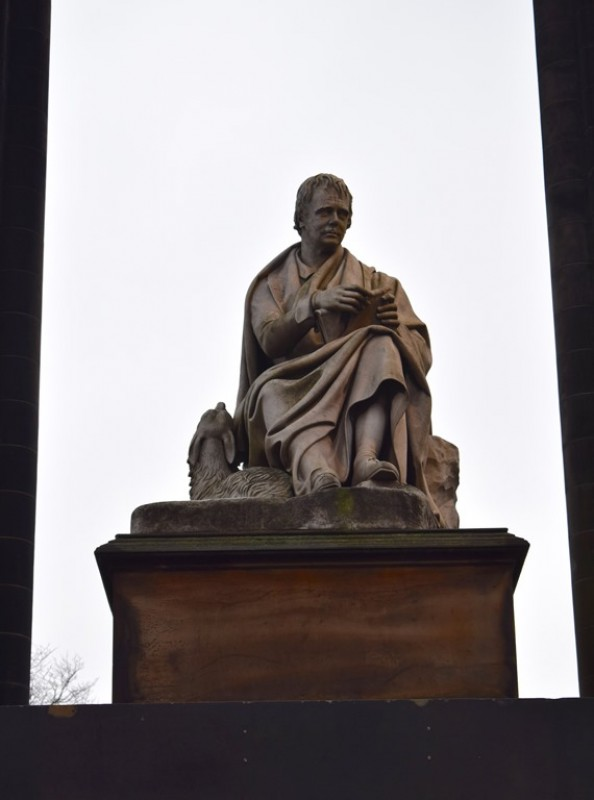 The Scott Monument (detail)