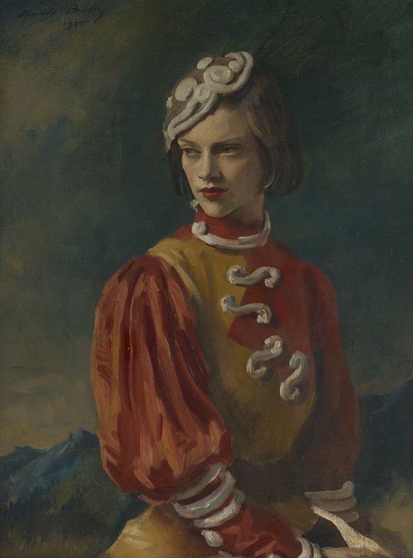 Oswald Birley Portrait of Kyra Nijinska,1935, oil on canvas