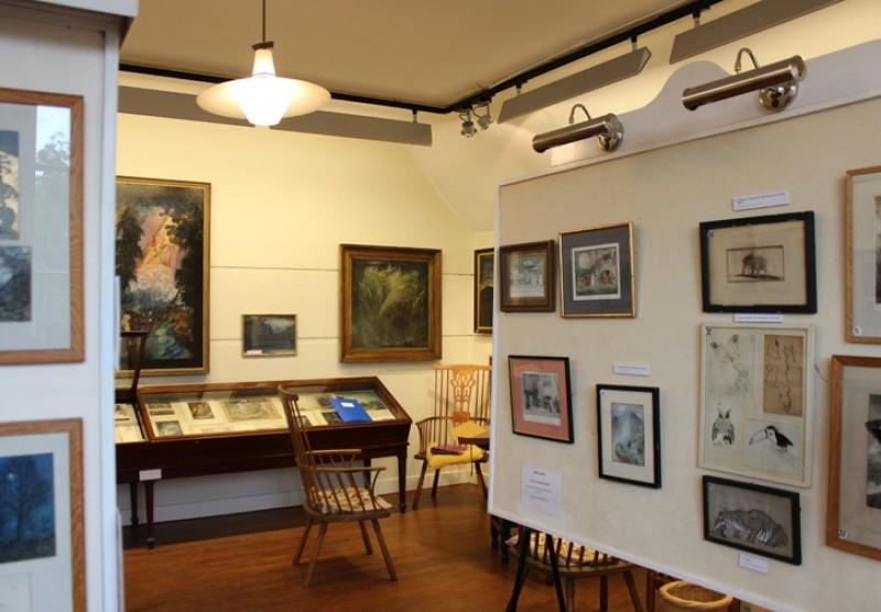 Sime's art on display at Worplesdon Hall