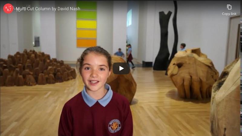 Sculpture in focus: Multi-Cut Column by David Nash