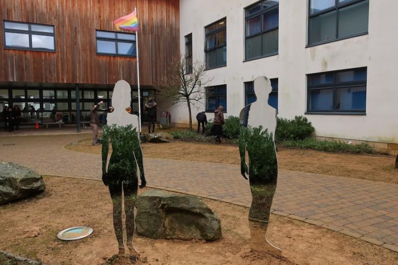 'Passage' installed at Douglas Academy, Milngavie