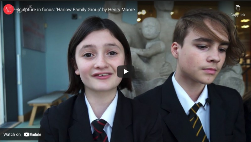Sculpture in focus 'Harlow Family Group'