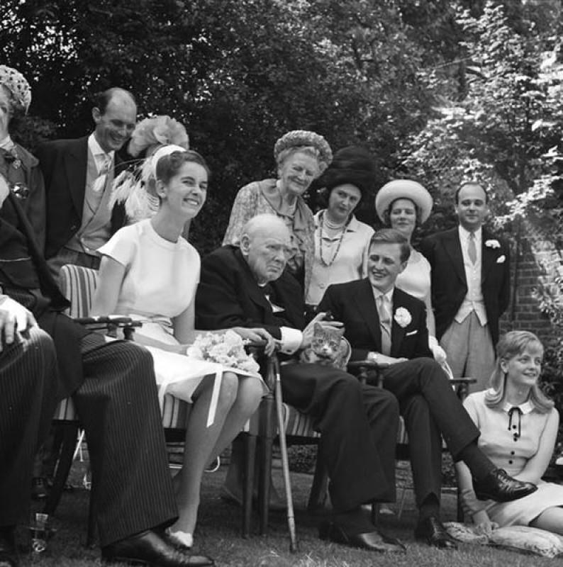 Winston Junior's marriage to Minnie d'Erlanger