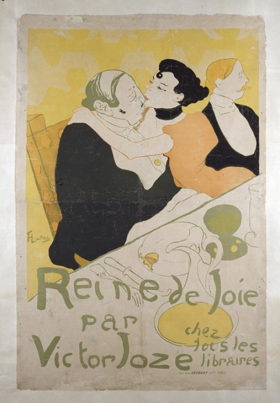late 19th C, colour lithograph by Henri de Toulouse-Lautrec (1864–1901)
