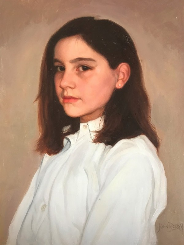 Portrait of a Girl (granddaughter of the artist)