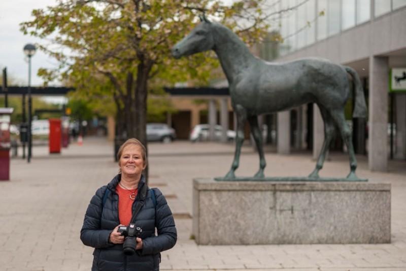 Jane Roblin, Art UK volunteer for Oxfordshire and Milton Keynes