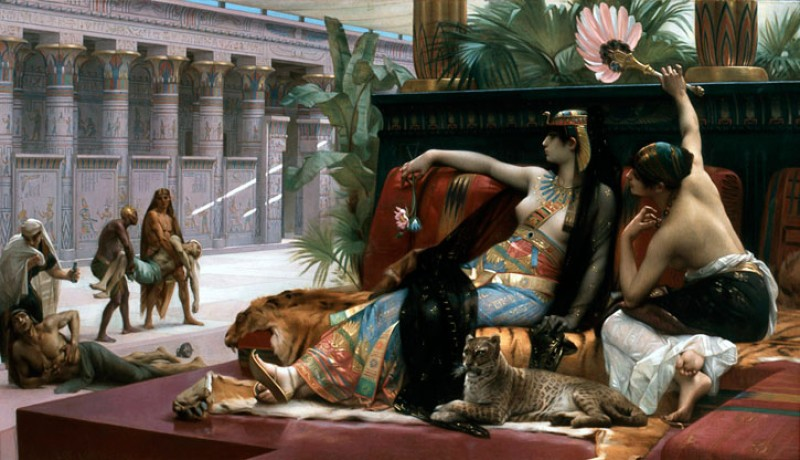 Cleopatra testing Poisons on Condemned Prisoners