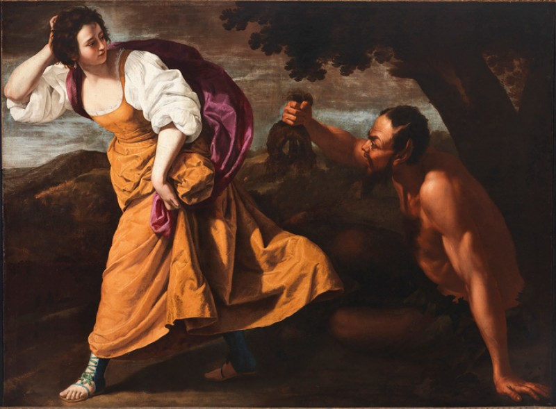 Corisca and the Satyr