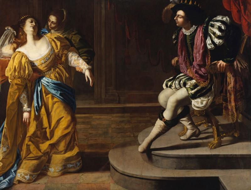 Esther before Ahasuereus