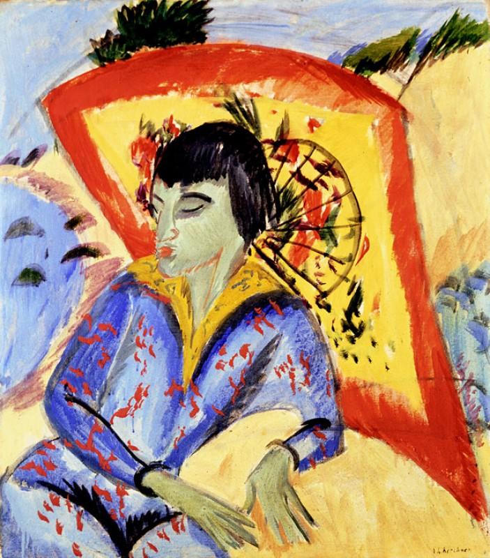 1913, oil on canvas Ernst Ludwig Kirchner (1880–1938)