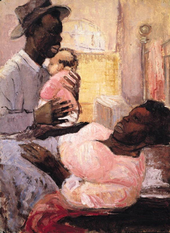 Couple with Infant