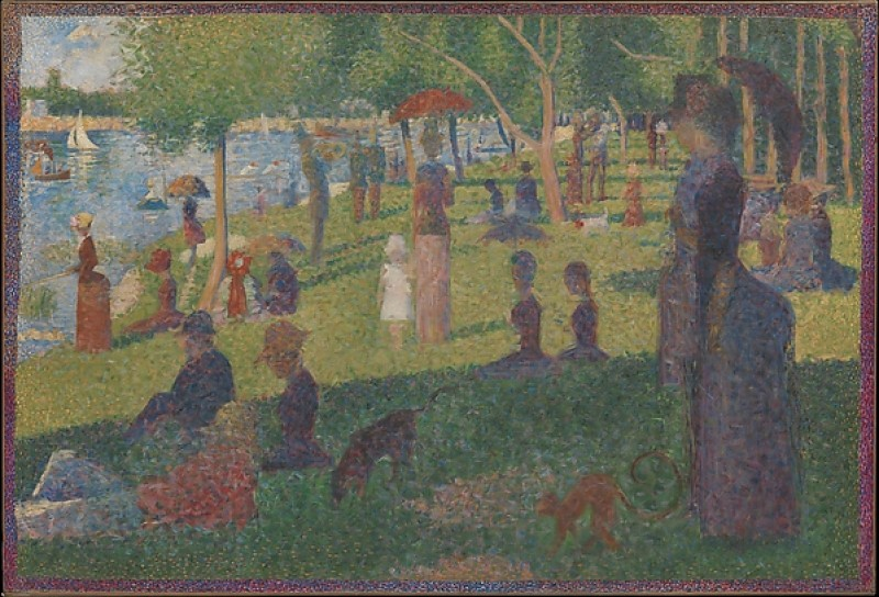 Study for 'A Sunday on La Grande Jatte'