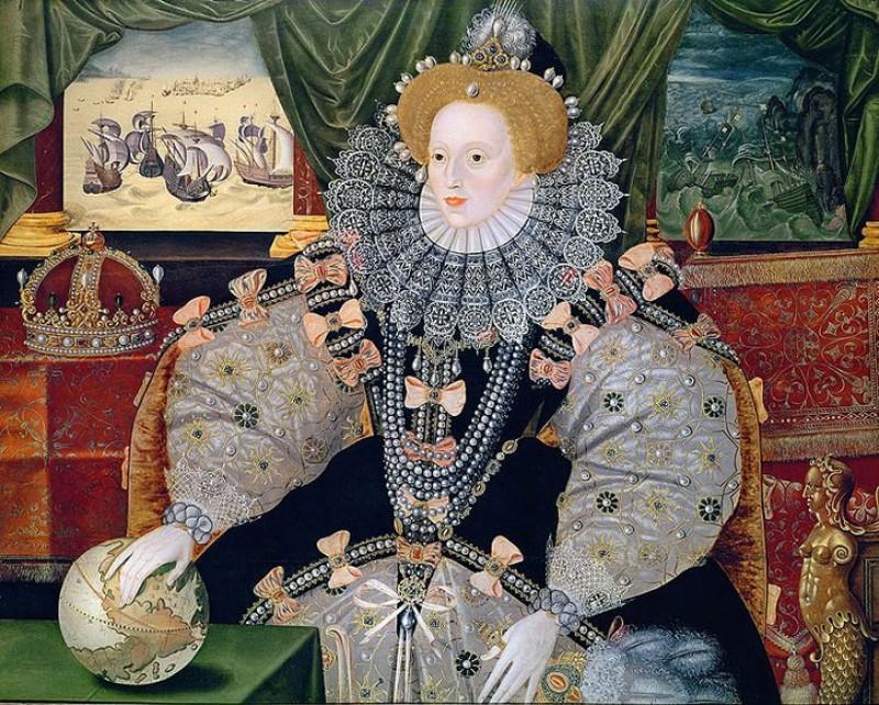 Elizabeth I (The Armada Portrait)