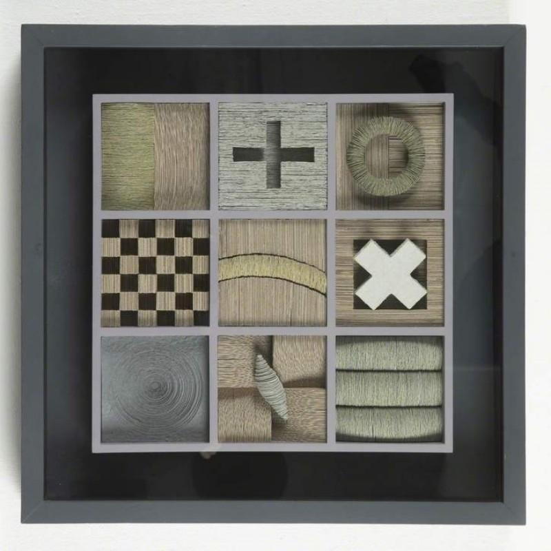 2013, MDF, cardboard & paper pulp construction by Julia Gardiner (b. 1964)