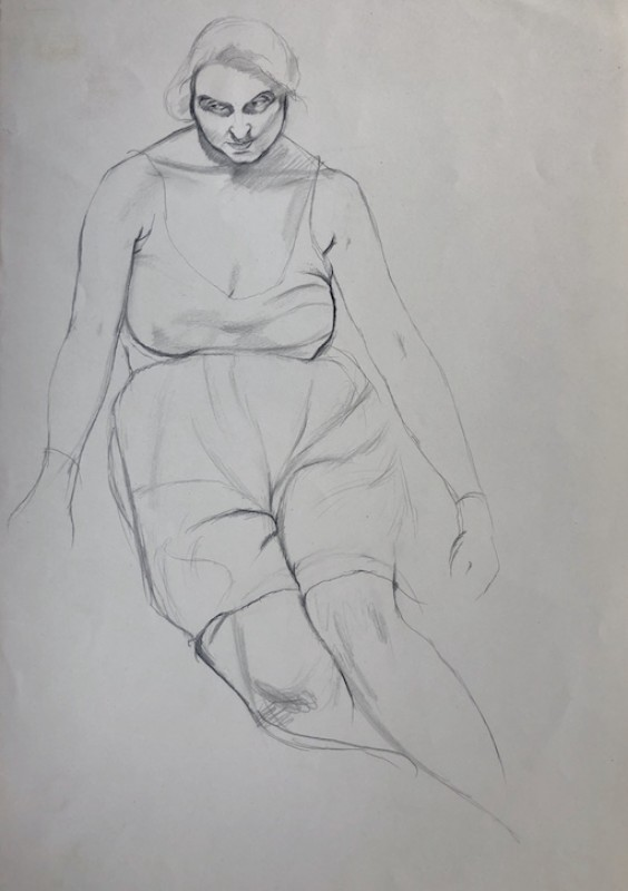 1928, pencil on paper by Dorothy Hepworth (1898–1978)