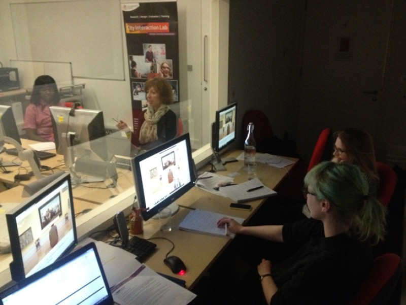 Some of the Art UK team observing