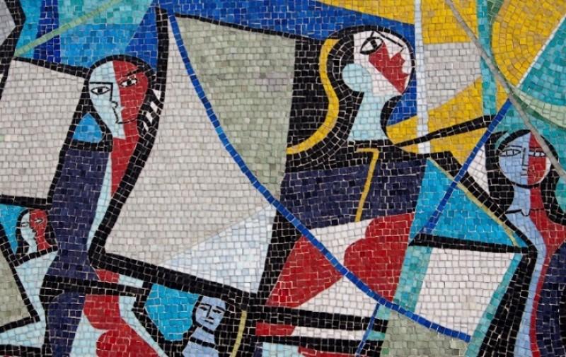 Mural no Hotel Jaragua