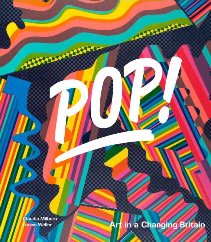 Front cover, 'POP! Art in a Changing Britain'
