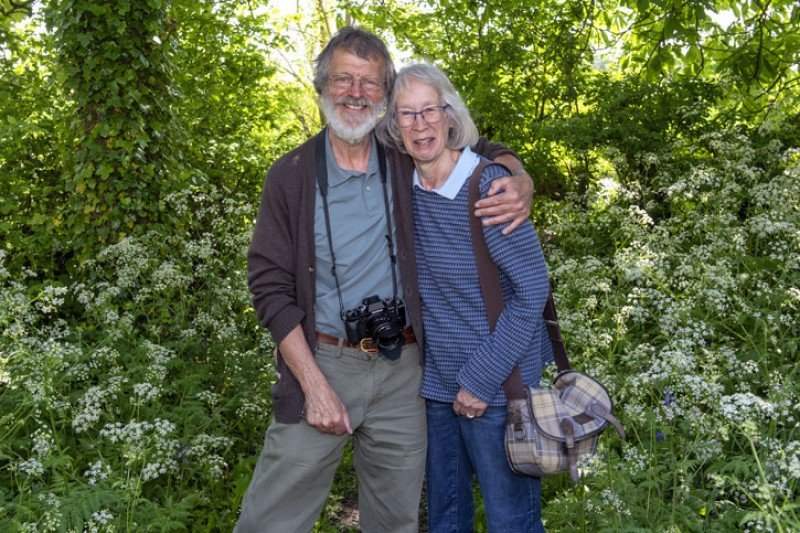 Peter and Janet Roworth
