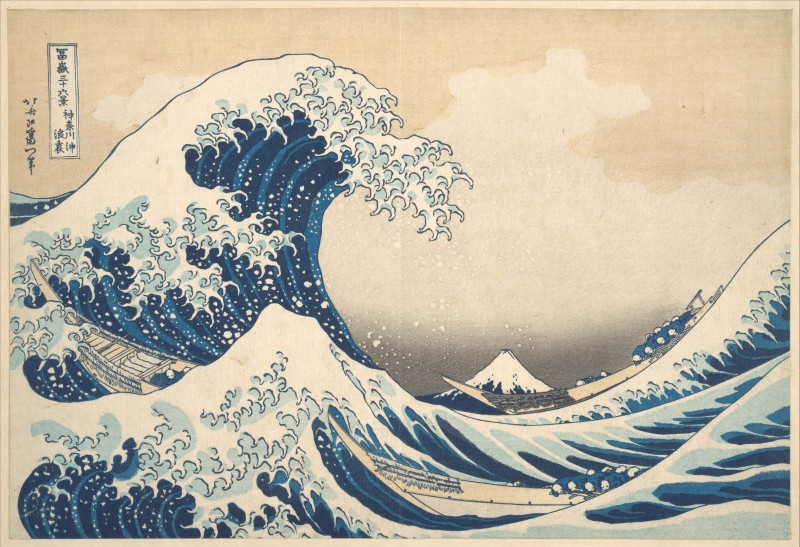 Under the Wave off Kanagawa, or The Great Wave