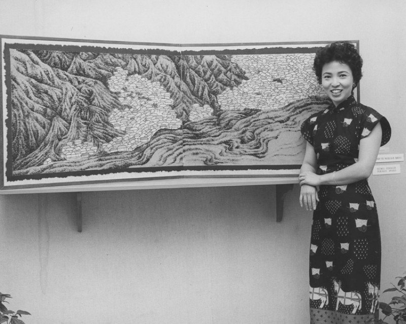 Tseng Yuho at the Honolulu Museum of Art