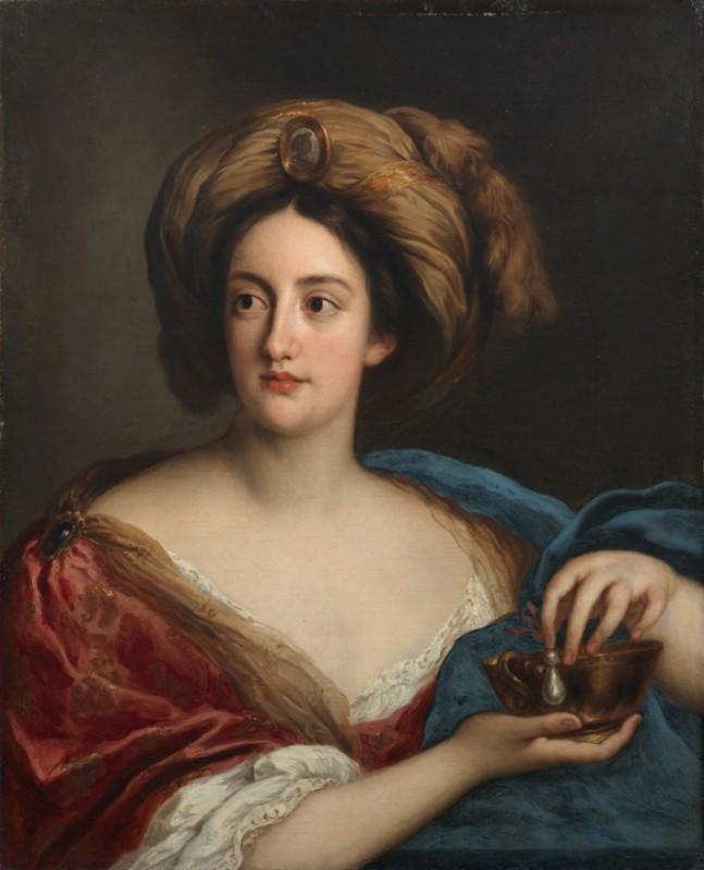 Hortense Mancini, Duchess of Mazarin, as Cleopatra