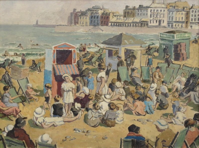 Punch & Judy, Margate Sands