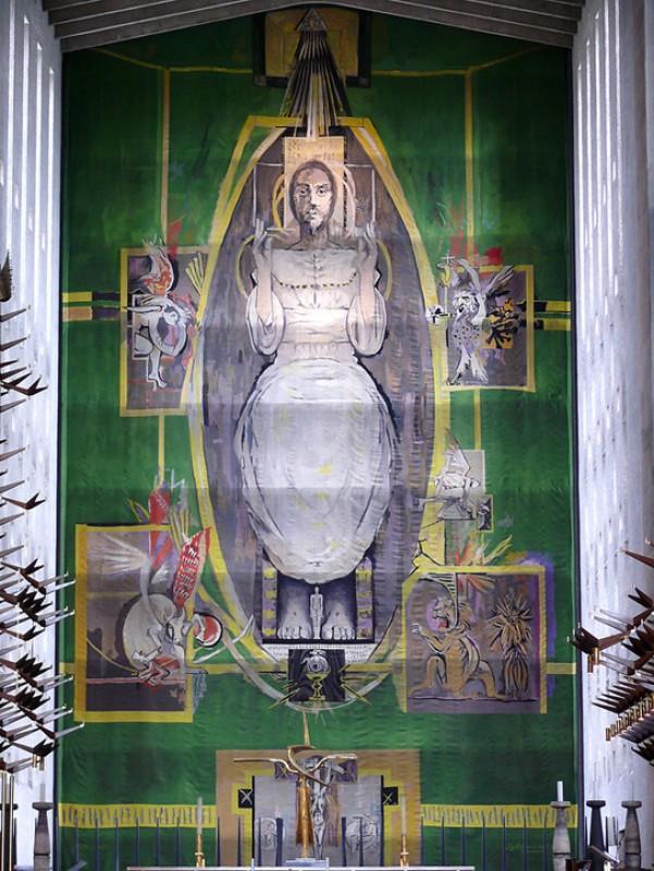 1962, tapestry by Graham Vivian Sutherland (1903–1980) & workshop of Pinton Frères of Felletin