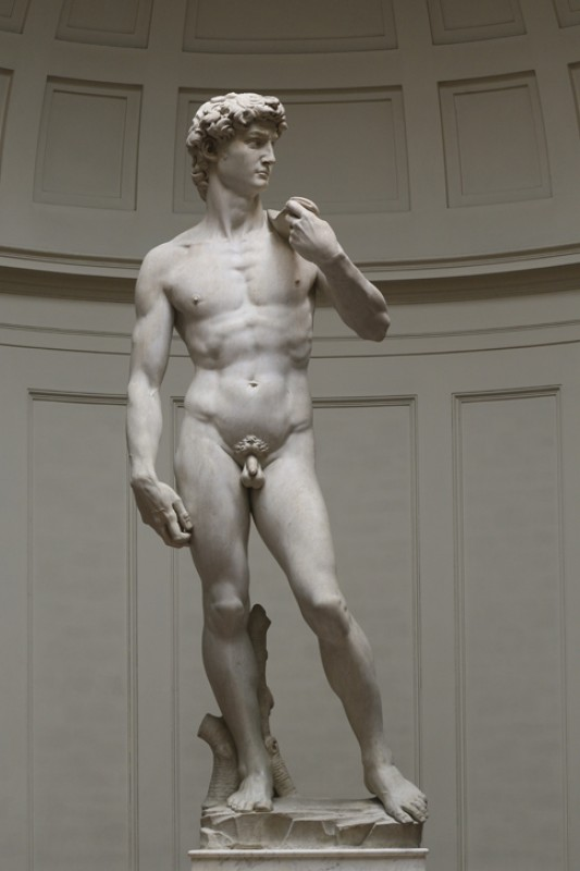 1501–1504, marble sculpture by Michelangelo (1475–1564)