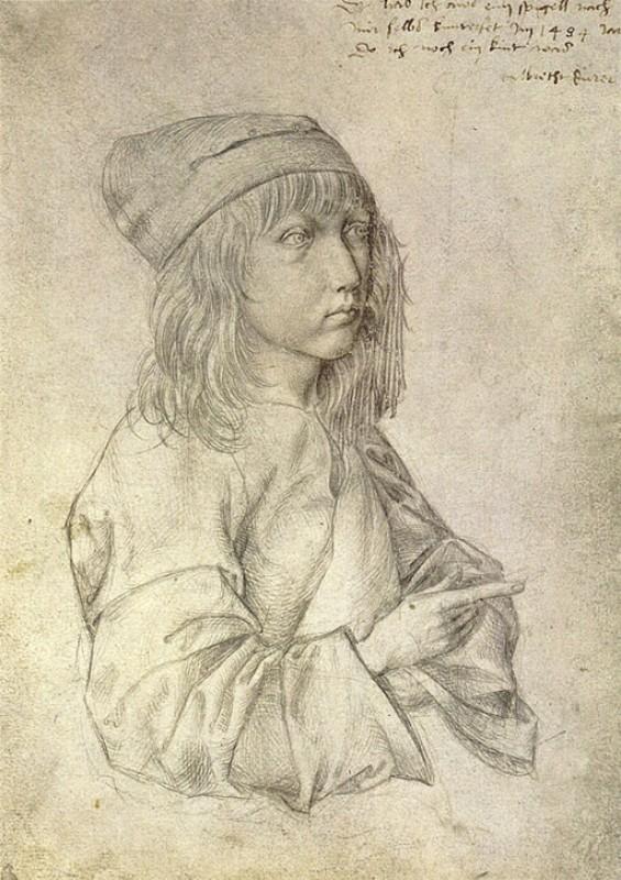Self Portrait at Age 13