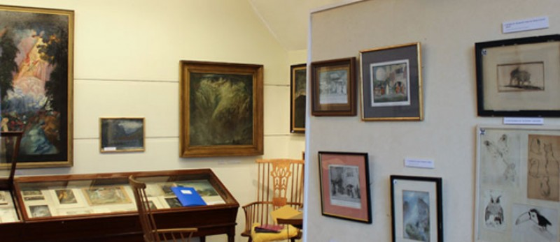 Sidney Herbert Sime's art on display in the gallery