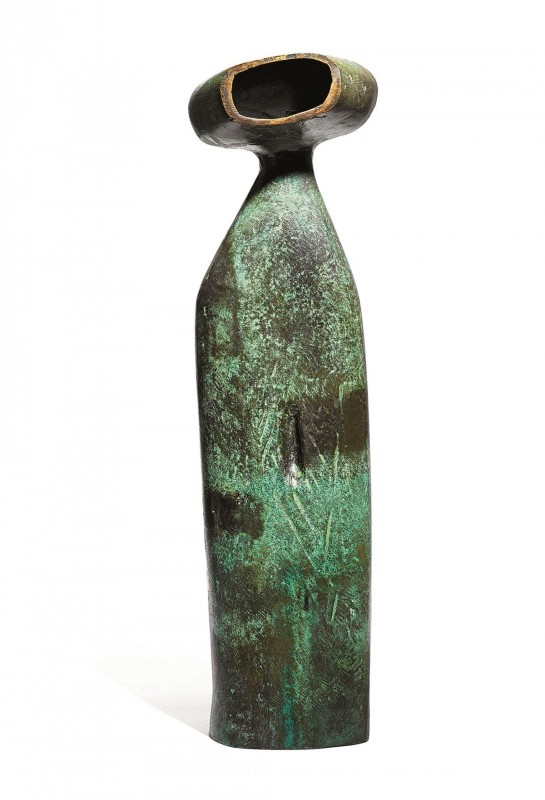 Kenneth Armitage (1916–2002), bronze with a green patina, unique