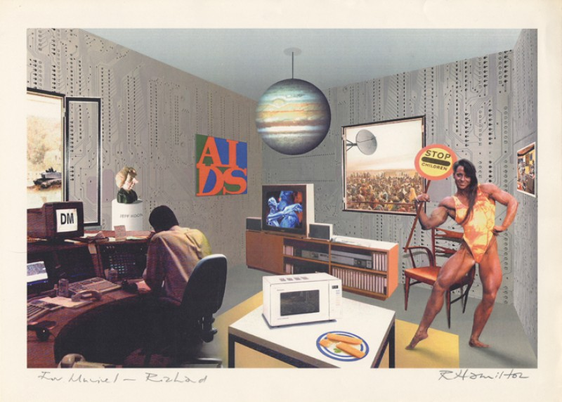 1992, digital print on paper by Richard Hamilton (1922–2011)