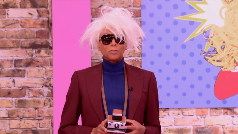 Still from RuPaul's Drag Race All Stars, Season 3, Episode 5 – 'Pop Art Ball'