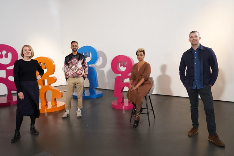 The judges for this episode are Clare Lilley, Hetain Patel and Russell Tovey