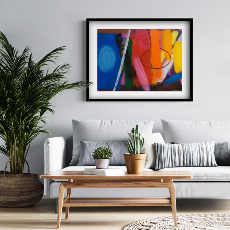 Framed print of 'Untitled, 05/99 (RSW 2000)'