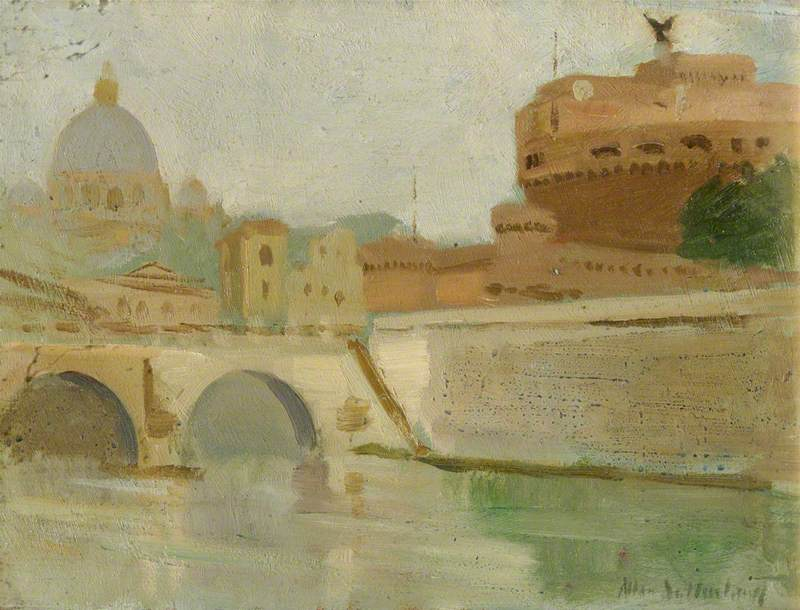 River Tiber and Castel Sant'Angelo, Rome
