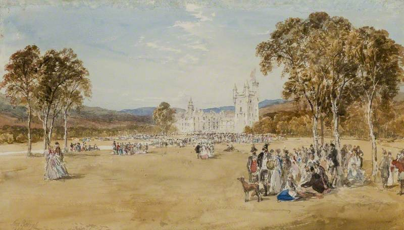 Highland Gathering at Balmoral