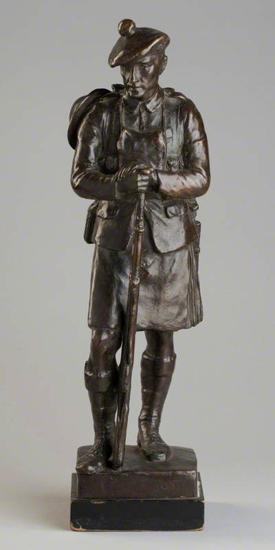 A Gordon Highlander