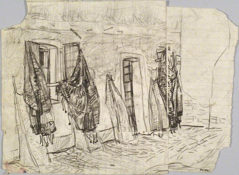 Fishing Nets at Burano, near Venice
