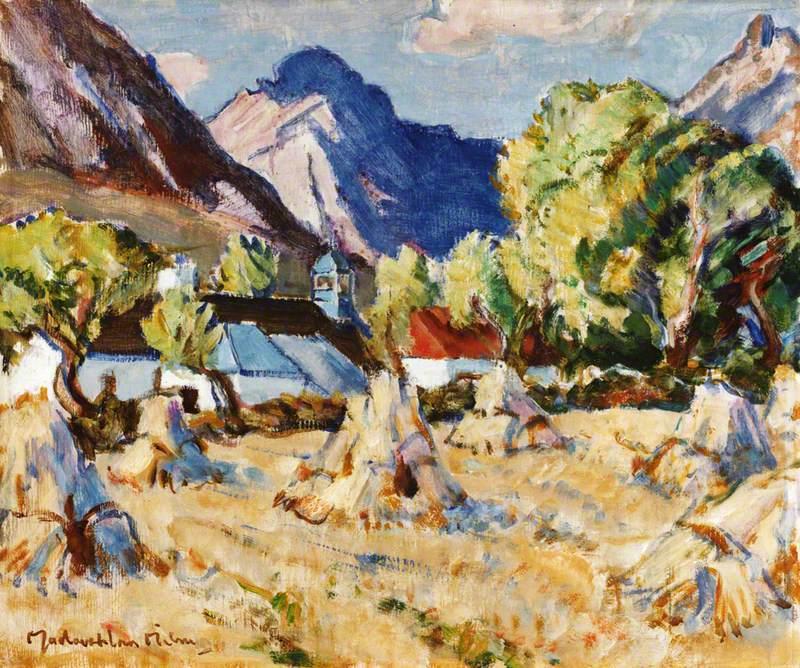 Harvest Field, Arran