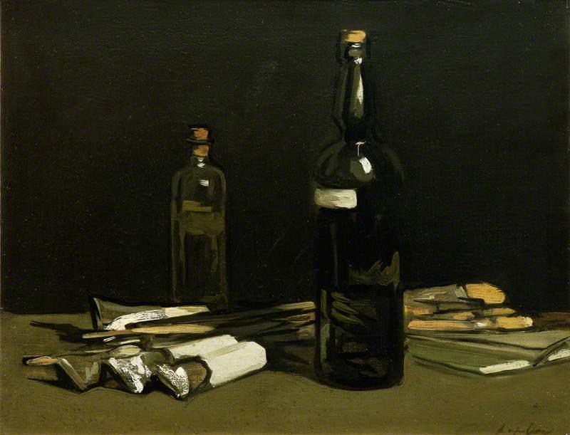Still Life, Painter's Materials